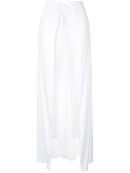Hellessy jogger pants with drawstring skirt - White
