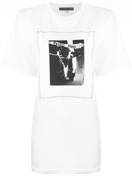 Alexa Chung Basic Step print T-shirt - White