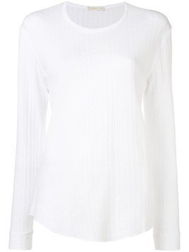 6397 ribbed lightweight sweater - White