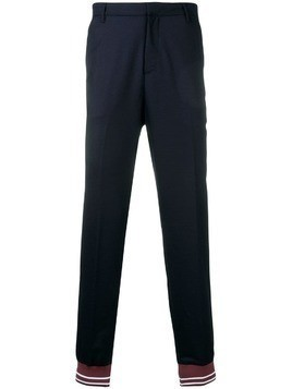 Kenzo tailored track pants - Blue