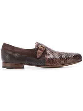 Lidfort woven loafers - Brown