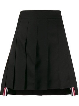 Thom Browne pleated mini skirt - Black