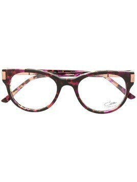 Cazal marbled effect glasses - Purple