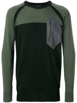 Diesel patch detail jumper - Multicolour