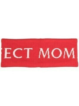 Perfect Moment merino logo headband - Red