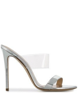 Deimille Yonia mirrored sandals - Silver