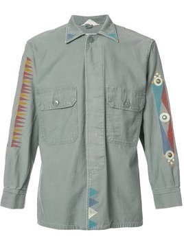 Htc Los Angeles printed details shirt - Green