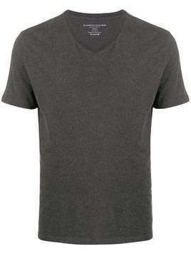 Majestic Filatures short sleeved cotton T-shirt - Grey