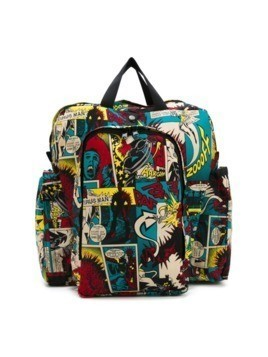 Jean Paul Gaultier Vintage printed backpack - Multicolour