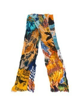 Dsquared2 Hawaii printed scarf - Multicolour