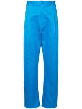 Ex Infinitas Cooler Future tailored trousers - Blue