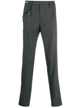 Berwich straight-leg tailored trousers - Grey