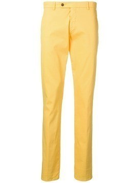Berwich straight leg trousers - Yellow