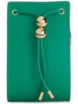 Emilio Pucci drawstring box wallet - Green