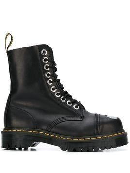 Dr. Martens leather lace-up boots - Black