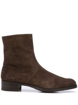 Gravati zipped ankle boots - Brown