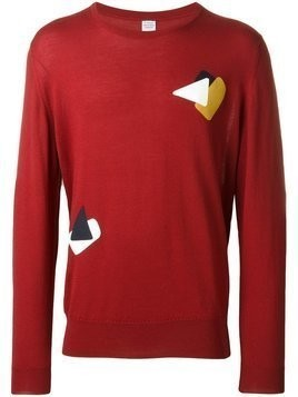 E. Tautz fine knit jumper - Red
