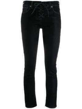 Levi's: Made & Crafted cropped skinny jeans - Blue