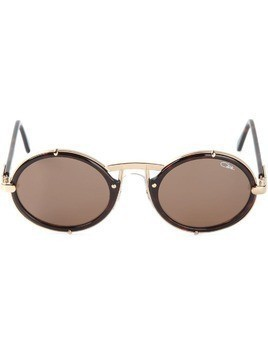 Cazal round frame sunglasses - Brown