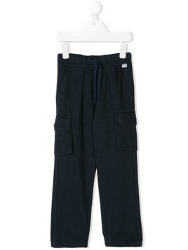 Il Gufo cargo trousers - Blue