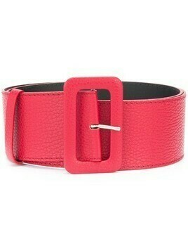 P.A.R.O.S.H. rectangular-buckle belt - Red