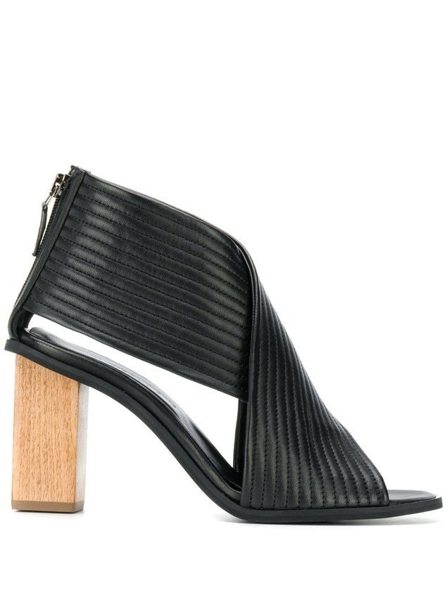 Christian Wijnants heeled Ante sandals - Black