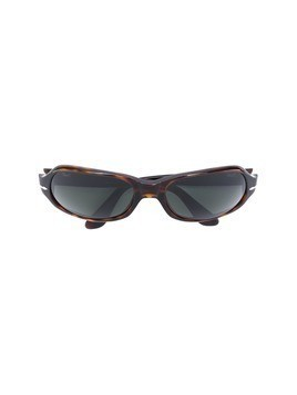 Persol Vintage slim oval sunglasses - Brown