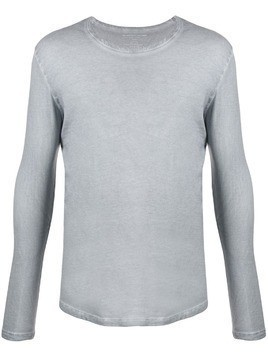 Majestic Filatures long sleeved cotton T-shirt - Grey