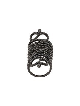 Loree Rodkin snake armour ring - Black Gold