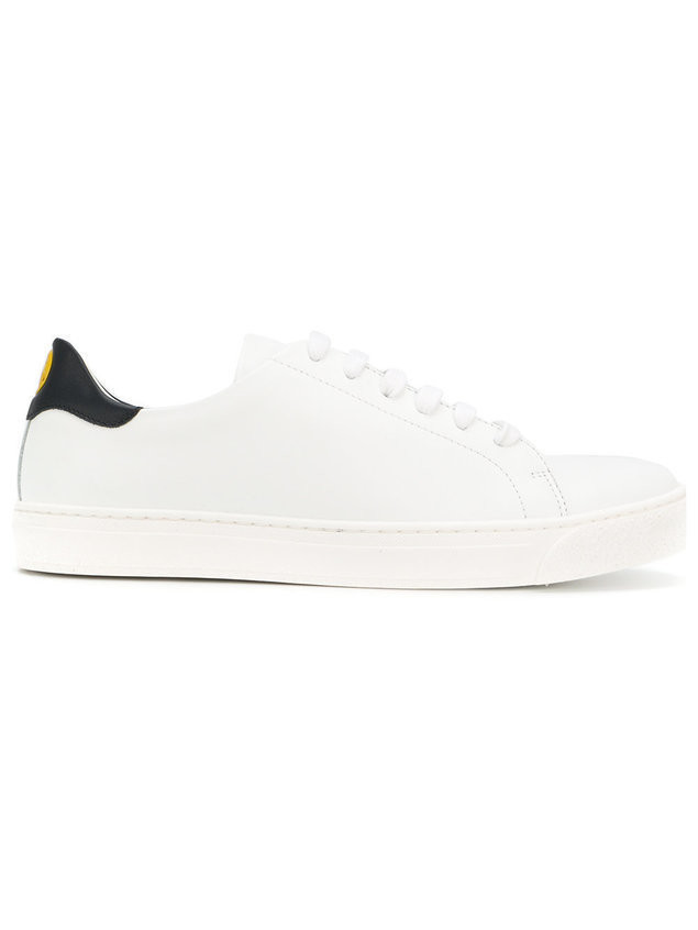 Anya Hindmarch Smiley low top sneakers - White