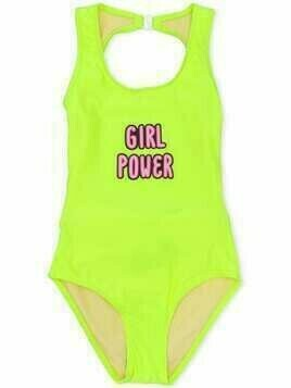 Andorine Girl Power swimsuit - Yellow