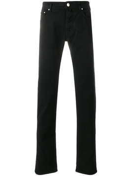Jacob Cohen - slim-fit jeans - Herren - Cotton/Polyester/Spandex/Elastane - 31 - Black