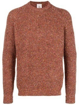 Eleventy mesh knit sweater - Red