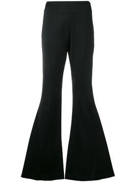 Mugler flared trousers - Black
