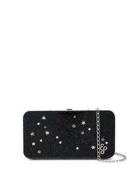 Edie Parker hardbody metal clutch - Black