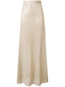Fisico knitted maxi skirt - Gold