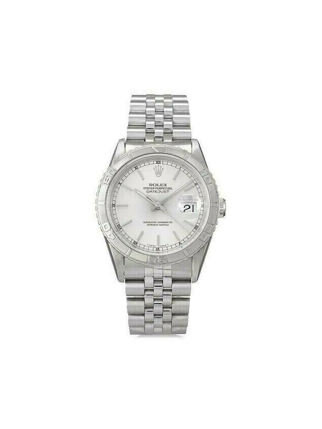 Rolex 1998 pre-owned Datejust Turn-O-Graph 36mm - SILVER
