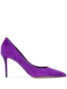 Le Silla Eva pointed pumps - PURPLE
