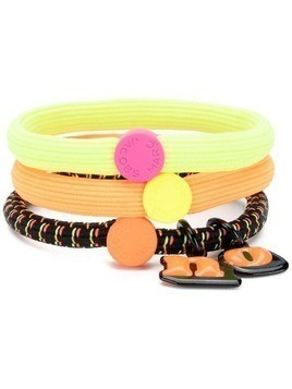 Marc Jacobs set of three hair ties - Orange