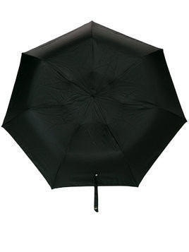 Alexander McQueen skull embellished umbrella - Black