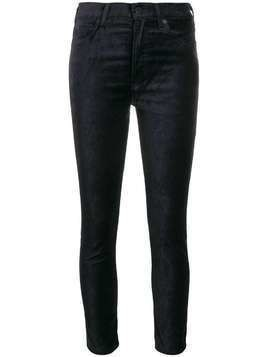 Citizens Of Humanity mid rise skinny trousers - Blue