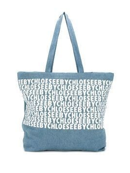 See By Chloé large tote bag - Blue