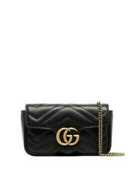 Gucci Marmont supermini shoulder bag - Black