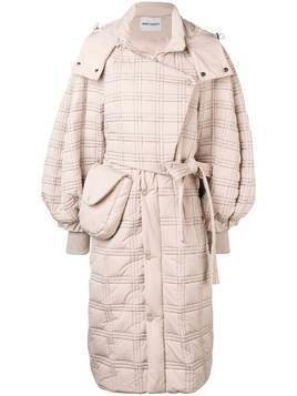 Henrik Vibskov Pump Thermo coat - NEUTRALS