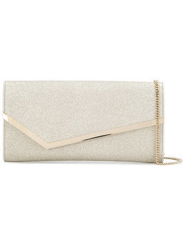 Jimmy Choo Erica clutch bag - Metallic