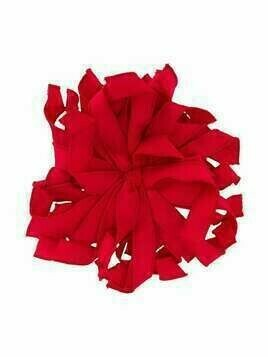 Piccola Ludo floral ribbon brooch - Red
