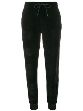 Plein Sport slim fit track pants - Black