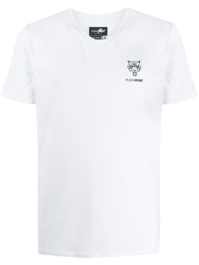 Plein Sport chest logo T-shirt - White