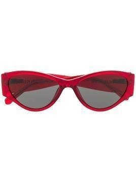 Calvin Klein Jeans cat-eye sunglasses - Red