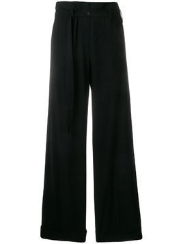 Ivan Grundahl wide-leg Ziggy trousers - Black